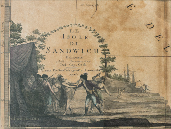 Le Isole di Sandwich by Giovanni Maria Cassini (European Print)