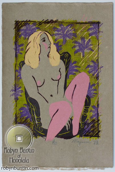French Postcard Pin-Up (39/55) by Mayumi Oda (European Print)