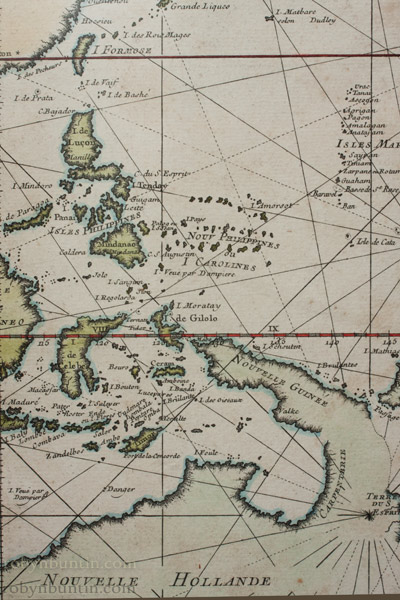 Map of the Pacific Ocean by Anonymous (European Print)
