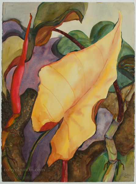 Miss Sunshine by Anne Irons (Hawaiian Painting/Drawing)
