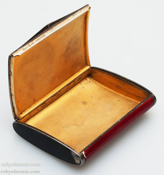 Dunhill Enamel Cosmetic Box by Anonymous (European Functional Object)