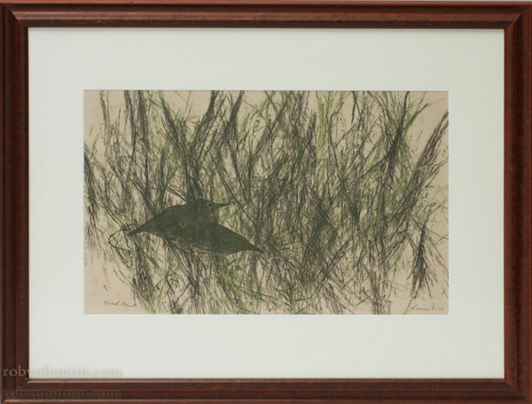 Field Birds (AP) by Louis Pohl (Hawaiian Print)