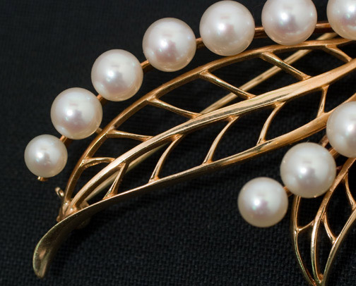 Pearl Brooch by   (American Jewelry)