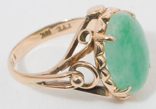 Jadeite Ring by   (Chinese Jewelry)