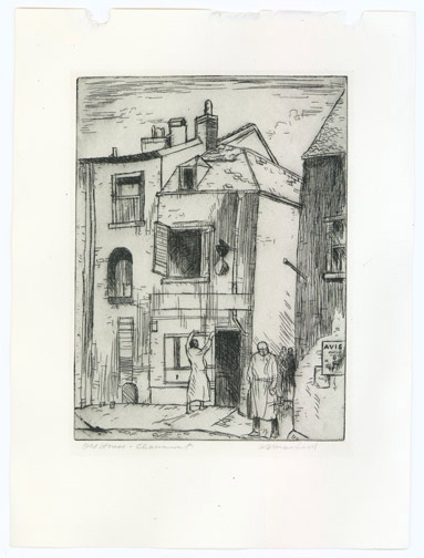 Old House - Chaumont by Alexander Samuel Macleod (European Print)