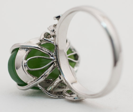 Jade Ring by Anonymous (Chinese Jewelry)